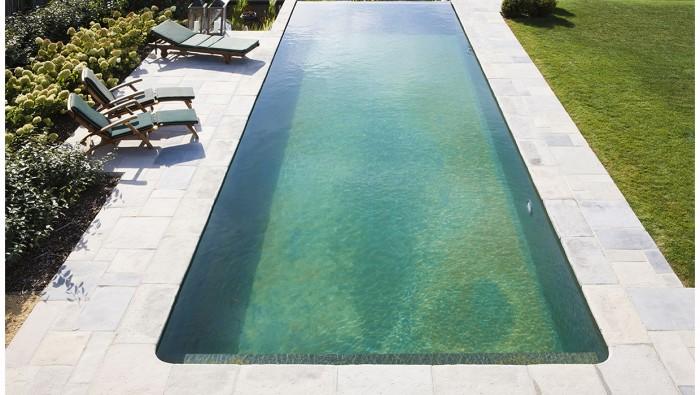 Realisaties natural pools - Zwarte voering voor zwembad ...